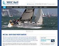 MEC Sail website