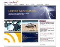 Muzeable website